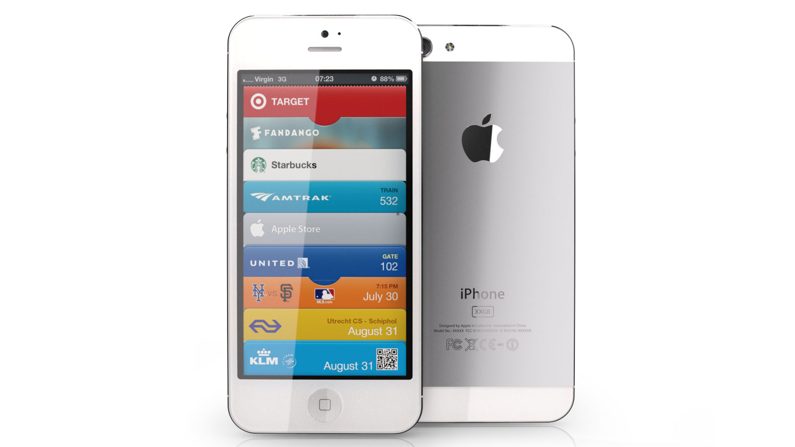 iphone7正面图