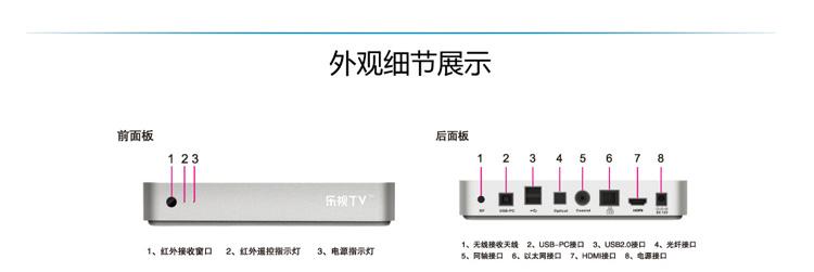 乐视t1 乐视超清机 高清网络机顶盒仅799!
